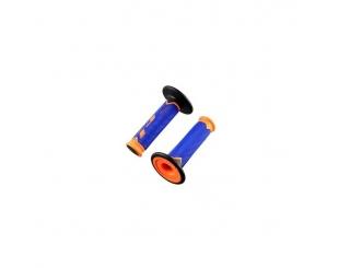 Manopla Acerbis Grip Cross 790 Extra Slim Naranja/azul/negro