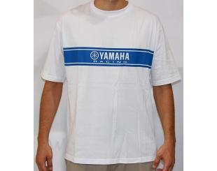 Remera Yamaha Racing Blanco Talle Xl