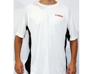 Remera Yamaha Dryfit Blanca Talle L