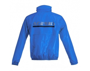Traje Lluvia Acerbis Logo Azul/negro Talle S