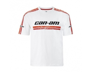 Remera Can-am Brp Blanca Talle Xxl