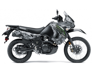 Moto Kawasaki Klr 650 Camo 2018