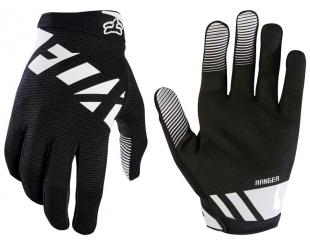 Guantes Fox Ranger Glove Negro Blanco Talle S