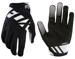 Guantes Fox Ranger Glove Negro Blanco Talle L