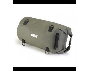 Bolso Sillin Cilindrica Waterproof 30 Lts Verde Ea114kg