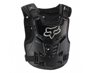 Pechera Fox Racing Proframe Lc Roost Deflectors Negra L/xl