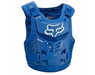 Pechera Fox Racing Proframe Lc Roost Deflectors Azul S/m
