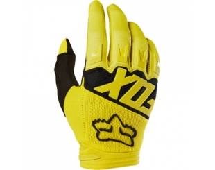 Guantes Fox Dirtpaw Race Amarillo Talle Xxl