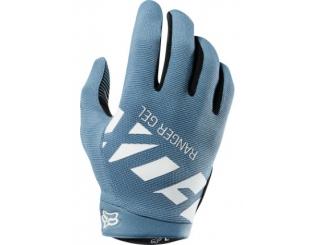 Guantes Fox Ranger Glove Azul Gris Talle S