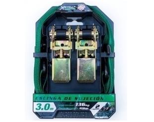 Zunchos Racetech 84-01938 El Par Verde Negro