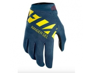 Guantes Fox Ranger Glove Negro Amarillo Talle 2xl
