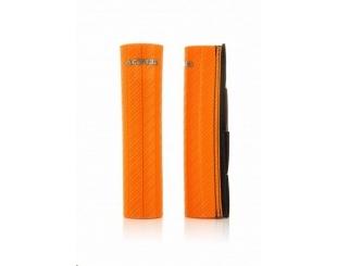 Cubre Barrales Acerbis De Goma Naranja