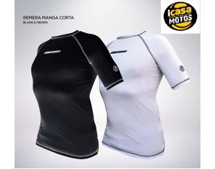 Remera Termica Deportiva Cross Roas Negra Talle Xl