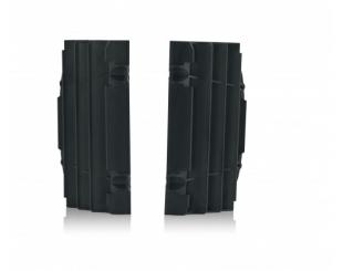 Cubre Radiador Acerbis Ktm/husq 17-19 Negro (par)