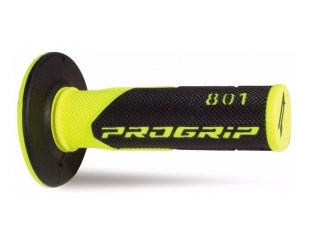 Manopla Progrip Cross 801 Negro/amarillo
