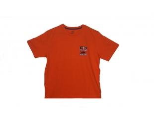 Remera Ktm Niño Logo Naranja Talle 4 3pwa188042
