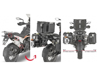 Soporte Lateral Fijacion Rapida Pl Onefit Obk Monokey Cam-side Ktm 790 Adv/r 19-20 890 Advent 21 Plor7710cam