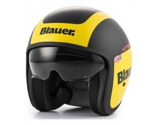 Casco Blauer Pilot 1.1 Ht Negro Amarillo Talle L
