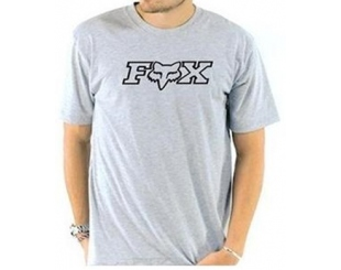 Remera Fox Legacy Head Gris Talle.s