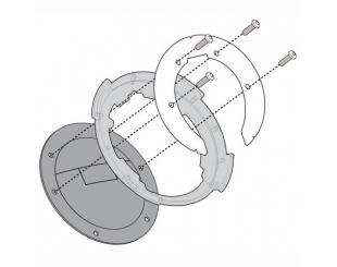 Adaptador Tanque Yamaha Mt-09 Tracer 15/17 Givi Bf23