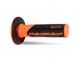 Manopla Acerbis Grip Cross 801 Fluor Naranja